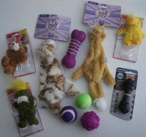 10 X ASSORTED PUPPY SMALL DOG TOY DOG DOG TOY SET (1)